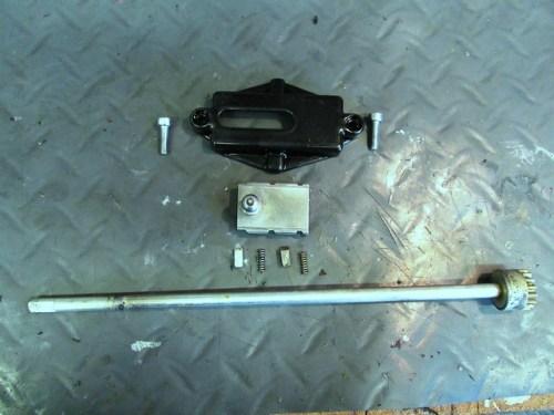 Steering Damper Cover and Adjusting Shaft Parts