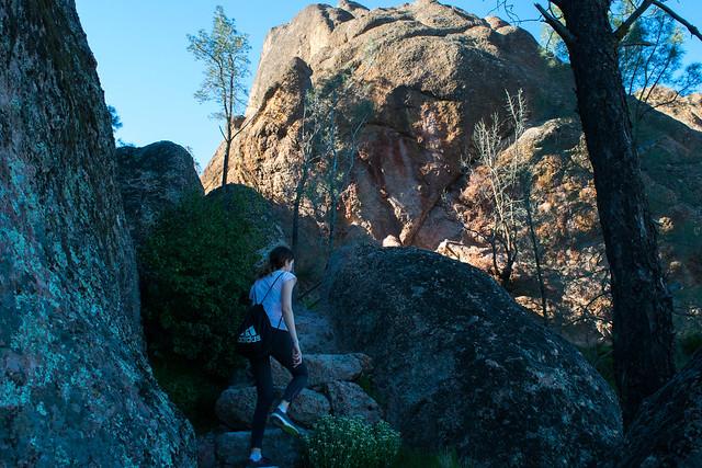 Climbing towards High Peaks