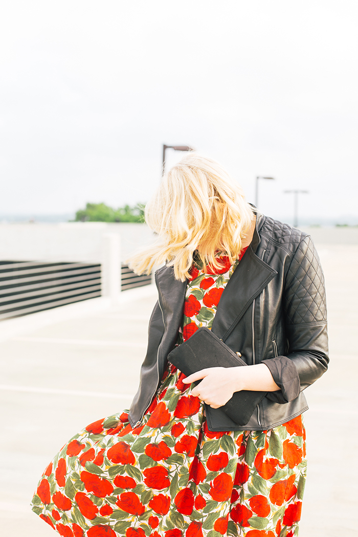 austin fashion blogger spring wedding outfit vintage dress8
