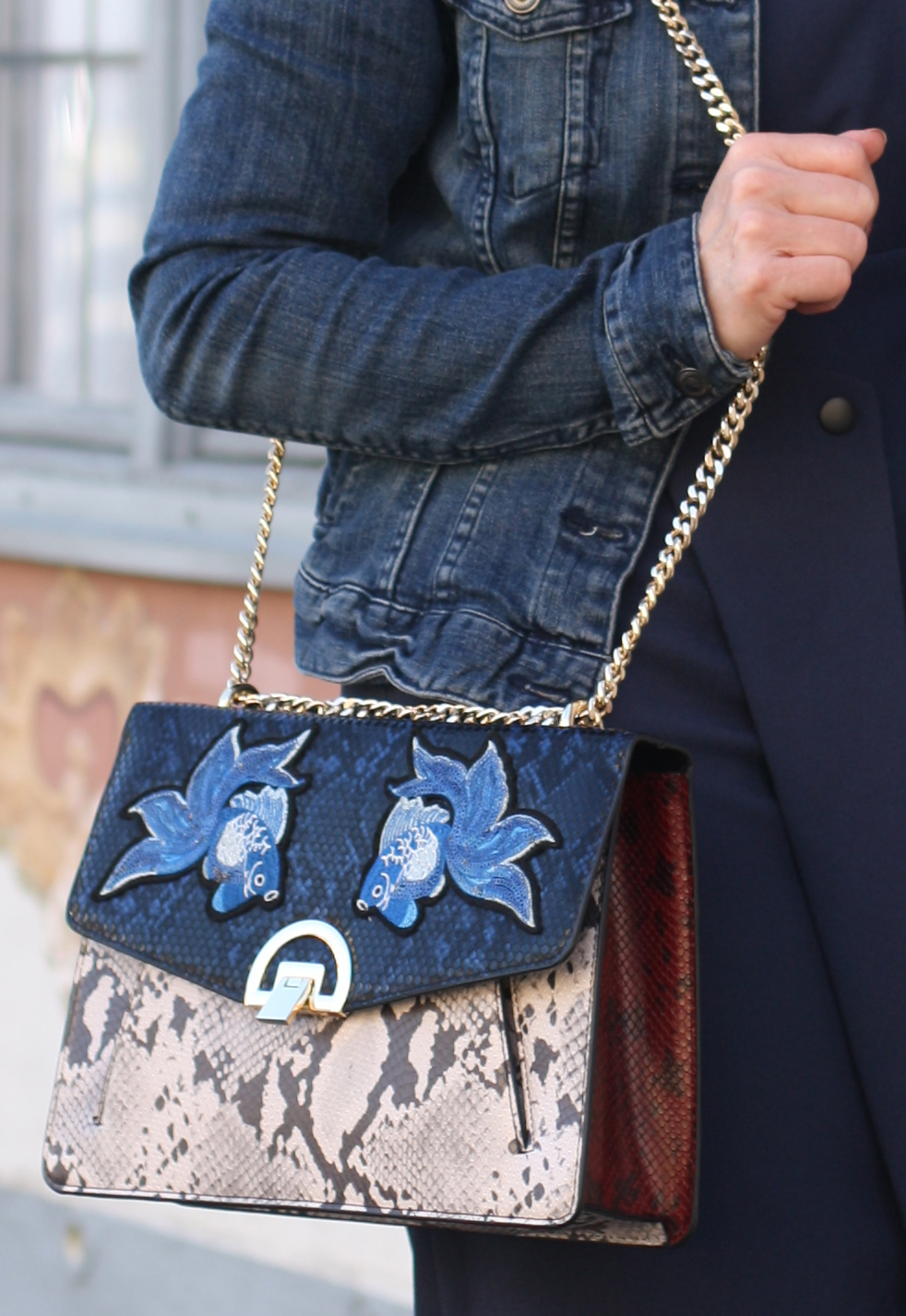 Statement bag by Mango . Lady of Style . 50plusblogger