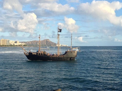 Piratenschiff Tour Oahu Hawaii