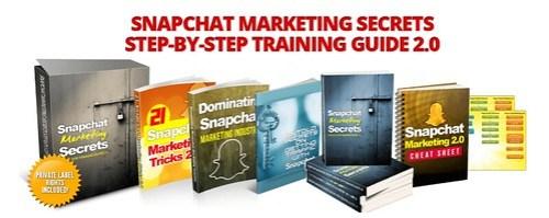 Snapchat Marketing Secrets 2.0 PLR Henry Gold
