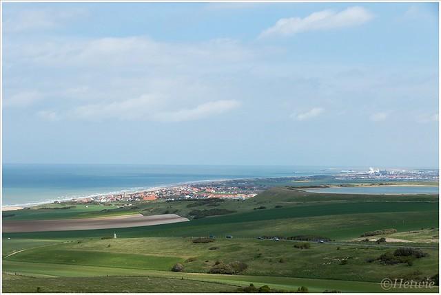 uitzicht over Calais