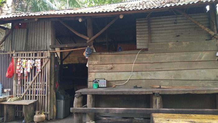 Pedagang di Pulau Kelapa