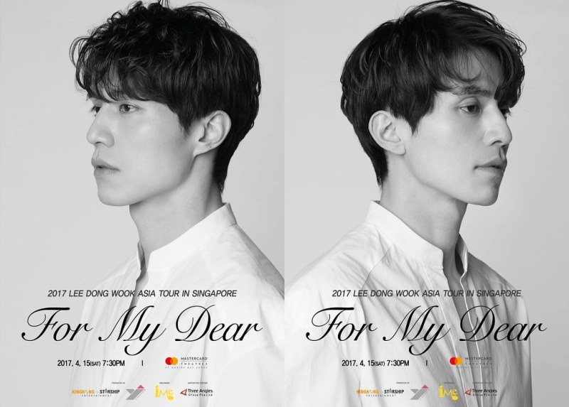 Lee Dong Wook 'For My Dear' Asia Tour in Singapore