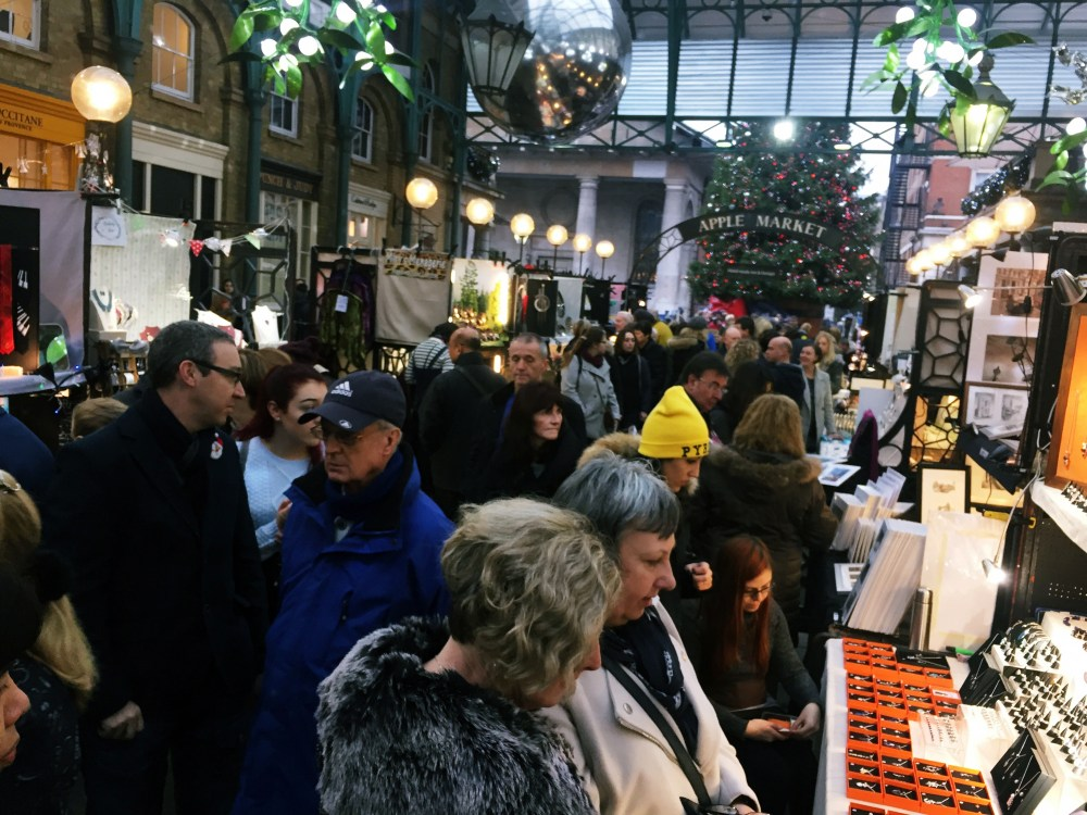 10 Dec 2016: Covent Garden Market | London, England
