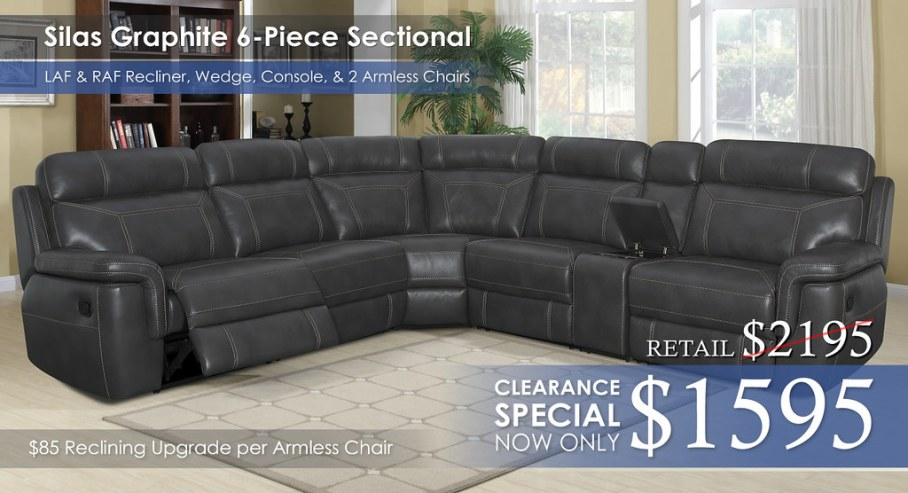 Silas 6PC Sectional