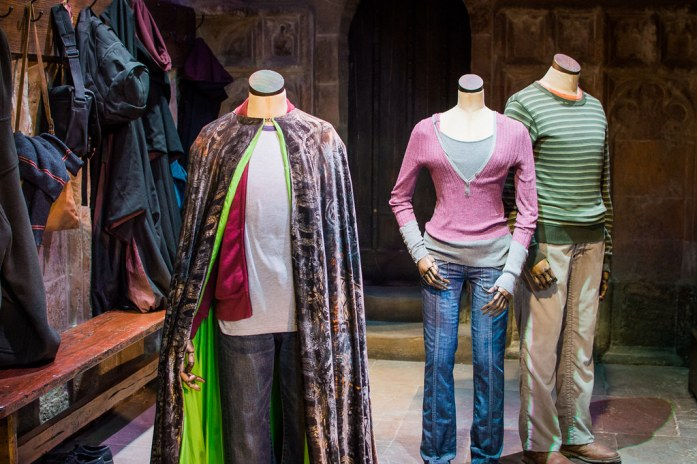 Warner Bros Studio London Harry Potter Costumes