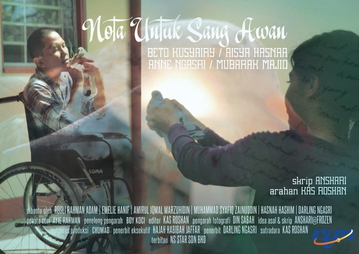 Telemovie Nota Untuk Sang Awan Lakonan Beto Kusyairi