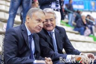 Gianni Petrucci CONI Valentino Renzi Lega Basket