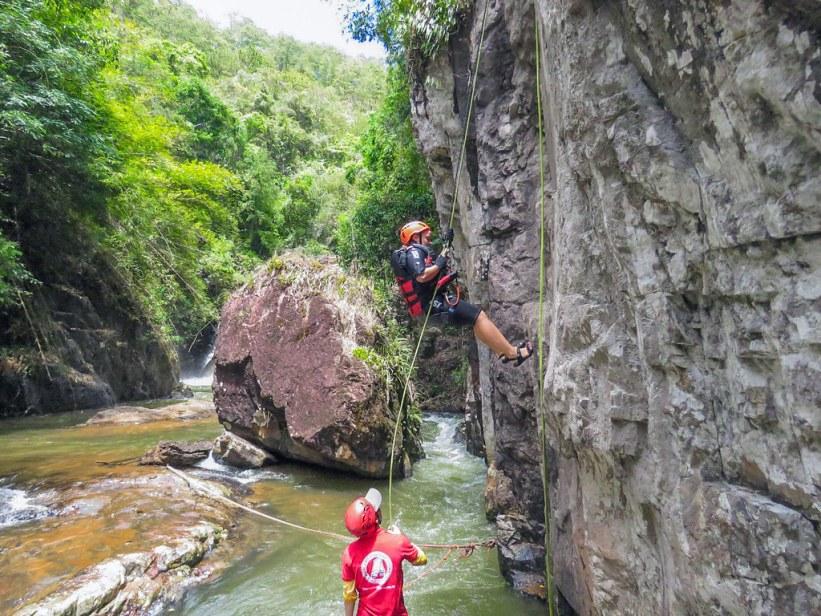 adventure i Dalat, Vietnam