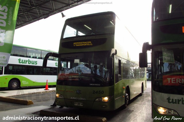 Tur Bus Aeropuerto | Santiago | King Long XMQ 6110 GS2 / FPDW14 - 2450