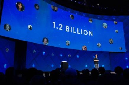 Facebook's user numbers