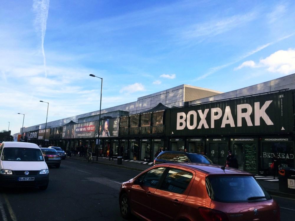 11 Dec 2016: BOXPARK   London, England