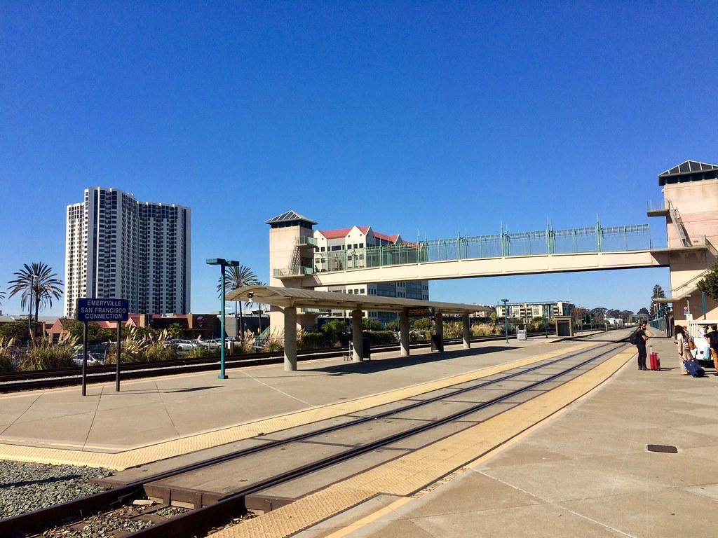 Emeryville Amtrak Station