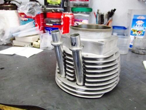 Push Rod Tubes Installed