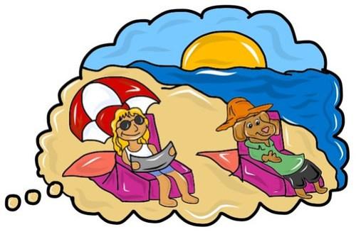 Beach think-piece