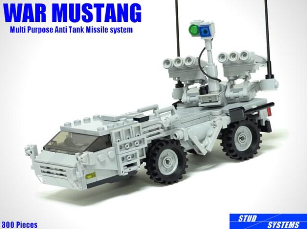 レゴ ウォーマスタング多目的対戦車ミサイルシステム(LEGO War Mustang Multipurpose Anti Tank Missile System)6