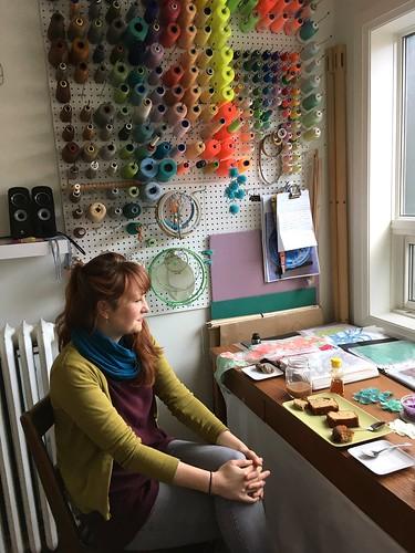 Studio visit with Amanda McCavour