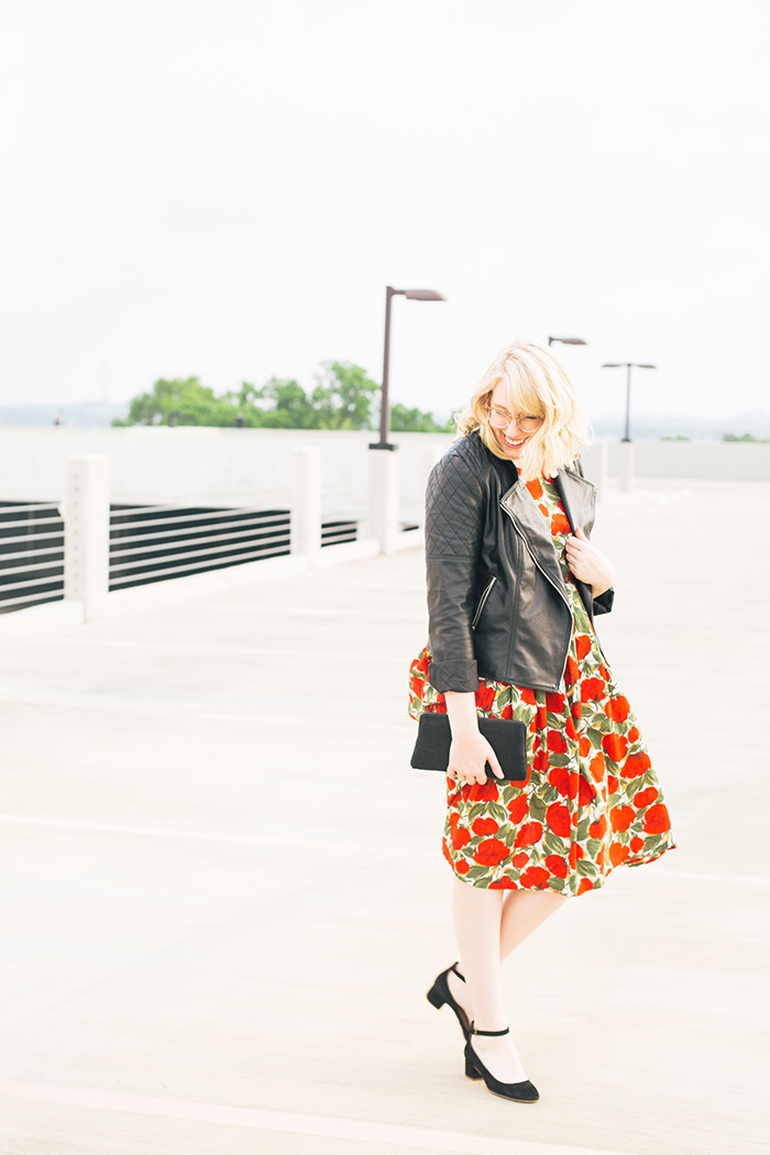 austin fashion blogger spring wedding outfit vintage dress3