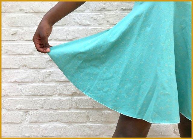 chat chocolat - spin dress (skirt)