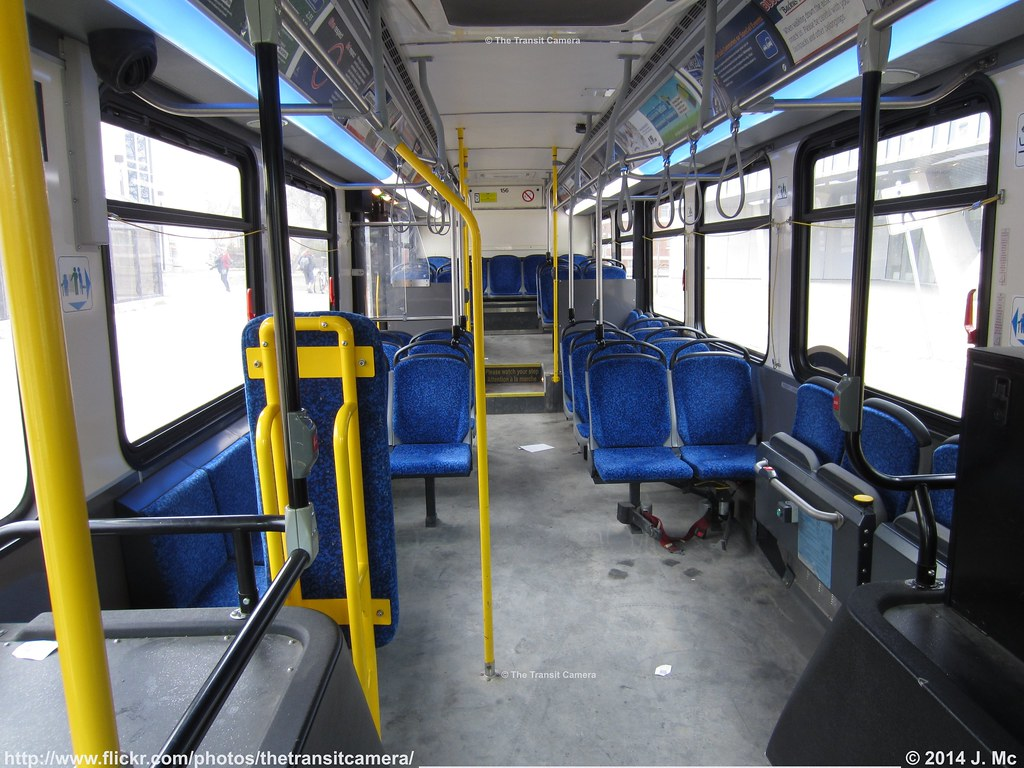 Winnipeg Transit 156 Interior Built In 2011