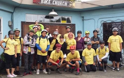 Greenways2school.org Santa Cruz to Monterey teen ride May 24 2014