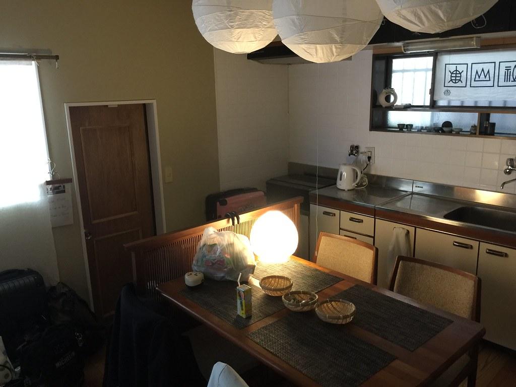 疊工房(Tatami workshop)的廚房兼餐廳