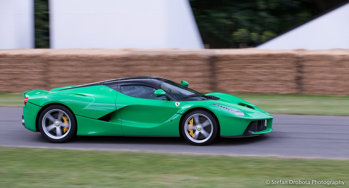 LaFrog LaFerrari at GoodWood FOS