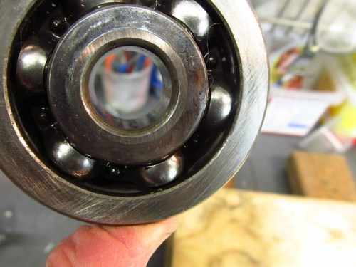 Output Shaft Front Bearing Squared Front Face