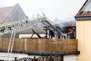 Gebäudevollbrand in Kelsterbach am 18.2.2017