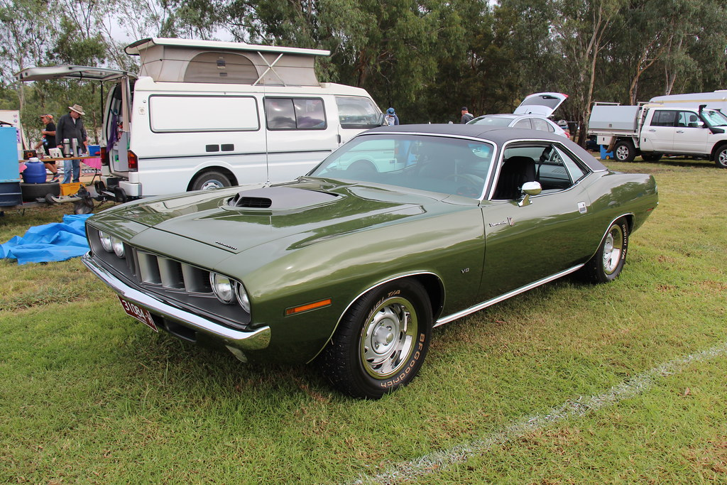1971 Plymouth Barracuda Gran Coupe The Plymouth Was
