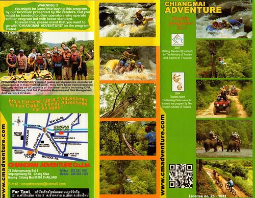 Brochure Chiang Mai Adventure Thailand 1