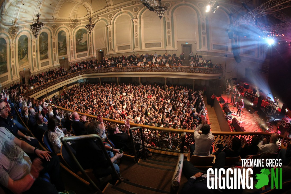 The Saw Doctors in the Ulster Hall Belfast
