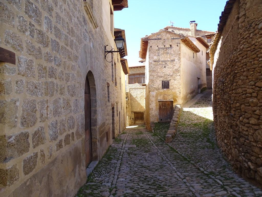 Mirambel Sus calles Teruel Comarca del Maestrazgo 06