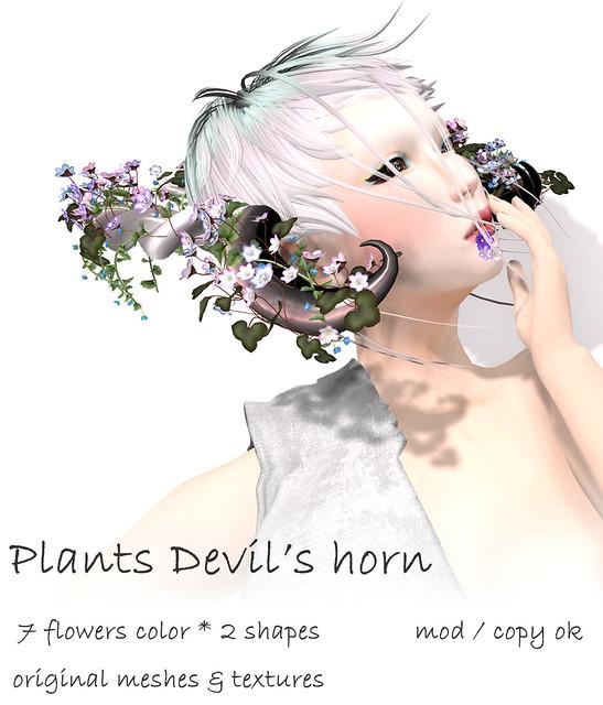 NAMINOKE Plants Devil's Horns