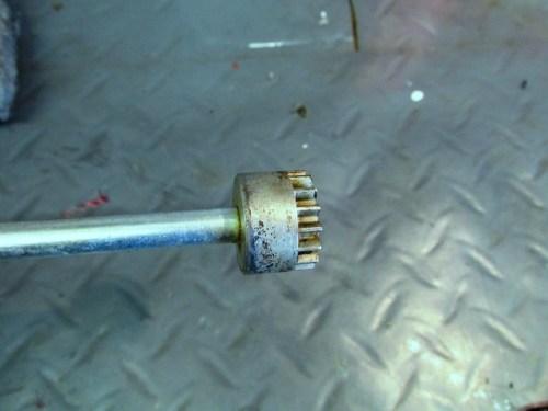 Steering Damper Adjusting Rod