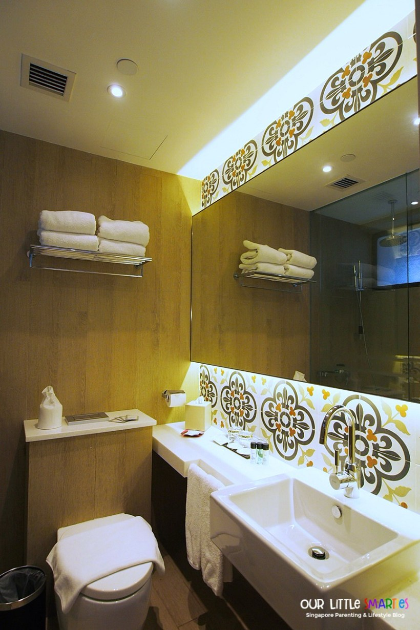 Village Hotel Katong Family Room Bathroom