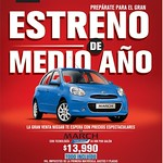 NISSAN MARCH pure drive technology ECONOMICO - 23jul14
