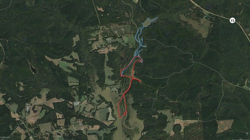 Paddling Paths Overlay