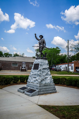 Griffin Doughboy Statue