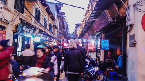 Crowded Hanoi