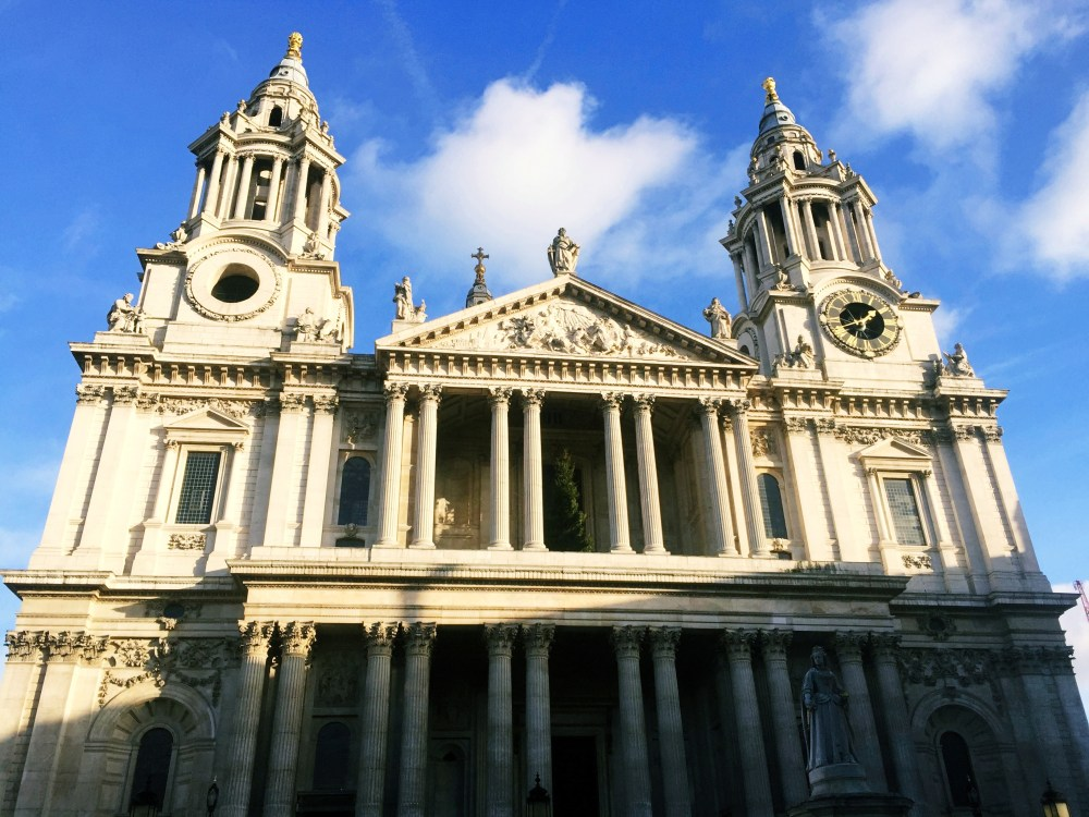 11 Dec 2016: St Paul's Cathedral   London, England