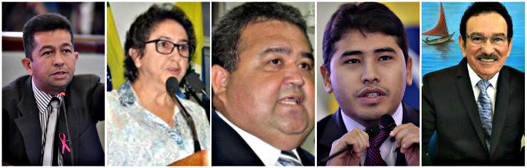 5 vereadores de Santarém atolados na lama do nepotismo cruzado, nepotismocruzado5casos - Henderson