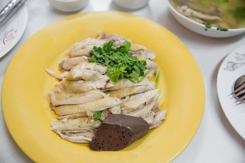 Je Aoun Chicken Rice, Bangkok, Thailand