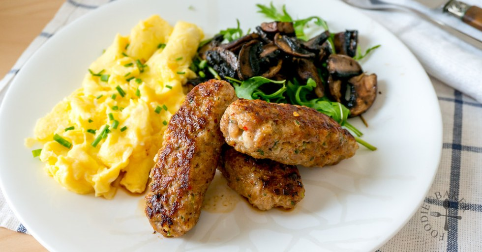 Homemade Freeform Pork Sausages