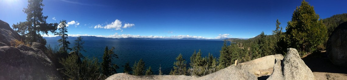 Panorama of South Lake Tahoe