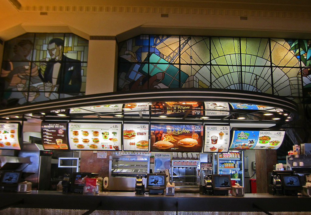 The Interior Of Imperial McDonalds Porto Portugal Flickr