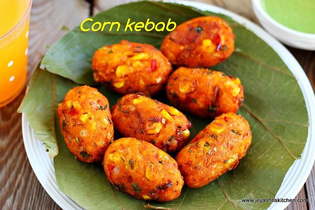 Corn-kebab