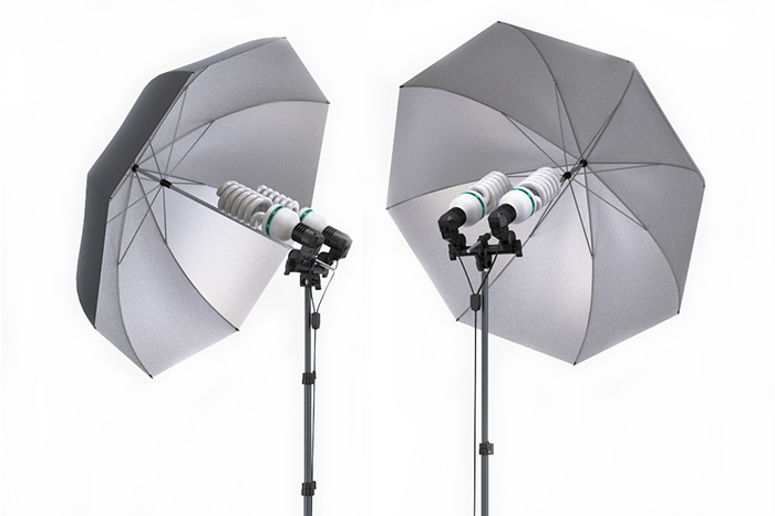 Equipamentos: Iluminação Umbrella